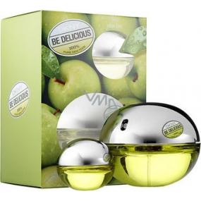 DKNY Donna Karan Be Delicious Women parfémovaná voda 100 ml + parfémovaná voda 7 ml, dárková sada