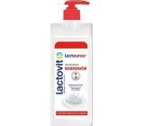 Lactovit Lactourea regenerační tělové mléko s dávkovačem 250 ml