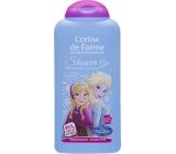 Corine de Farme Disney Princess Frozen 2v1 šampon na vlasy a sprchový gel pro děti 250 ml