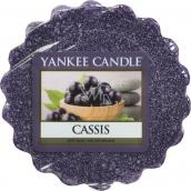 Yankee Candle Cassis - Černý rybíz vonný vosk do aromalampy 22 g