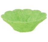 Košíček ze sisalu zelený 22 cm