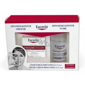 Eucerin Volume Filler denní krém 50 ml + 3v1 micelární voda 125 ml zdarma, kosmetická sada