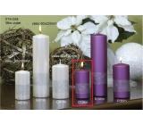 Lima Stuha svíčka lila válec 50 x 100 mm 1 kus