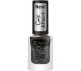 Dermacol 5 Day Stay Gel Effect dlouhotrvající lak na nehty s gelovým efektem 32 Chat Noir 12 ml