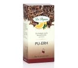 Dr. Popov Pu-Erh pomeranč čaj přispíváke kontrole tělesné hmotnosti a duševnímu zdraví 30 g, 20 nálevových sáčků á 1,5 g