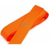 Nekupto Stuha látková taftová oranžová 3 m x 15 mm