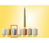 Lima Svíčka hladká metal stříbrná kužel 22 x 250 mm 1 kus