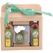 Bohemia Gifts & Cosmetics Beer Spa Sprchový gel 100 ml + Ručně vyráběné mýdlo půllitr 100 g + Šampon na vlasy 100 ml, kosmetická sada