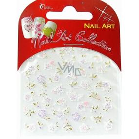 Absolute Cosmetics Nail Art samolepicí nálepky na nehty S3D015 1 aršík