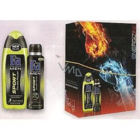 Fa Men Sport Double Power sprchový gel 250 ml + deodorant sprej pro mužej 150 ml, kosmetická sadata