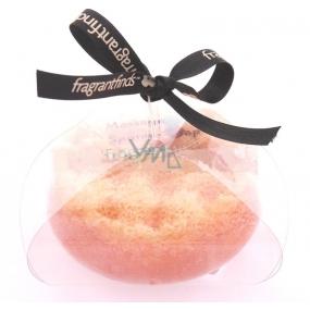 Fragrant Ingot Glycerinové mýdlo masážní s houbou naplněnou vůní parfému Paco Rabanne 1 Milion v barvě žluté 200 g