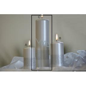 Lima Stuha svíčka perlová válec 60 x 220 mm 1 kus
