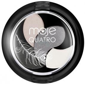Moje Quatro Hedvábně jemné oční stíny 01 4 g