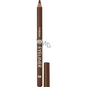 Deborah Milano Eyeliner Pencil tužka na oči 03 Brown 1,3 g
