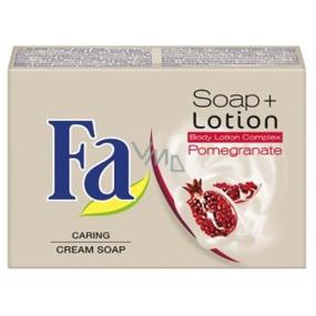 Fa Soap + Lotion Pomegranate toaletní mýdlo 90 g
