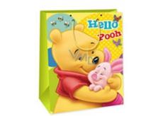 Ditipo Disney Dárková papírová taška dětská XL Medvídek Pú, Hello Pooh 33 x 10,2 x 45,7 cm