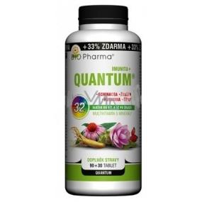 Bio Pharma Quantum Imunita+ 32 složek od vitamínu A až po železo multivitamín s minerály 120 tablet