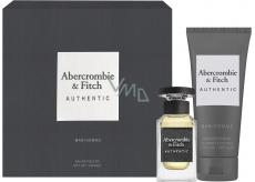 Abercrombie & Fitch Authentic Man toaletní voda pro muže 50 ml + sprchový gel 200 ml, dárková sada