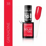 Revers Solar Gel gelový lak na nehty 38 Grenadine 12 ml