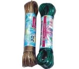 Clanax Šňůra na prádlo ocelové lanko různé barvy 30 m 1 kus
