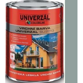 Colorlak Univerzal SU2013 syntetická lesklá vrchní barva Šedá pastel 0,35 l
