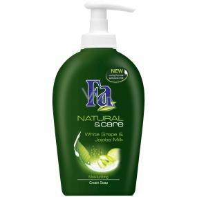 Fa Natural & Care Bílý hrozen tekuté mýdlo s dávkovačem 300 ml
