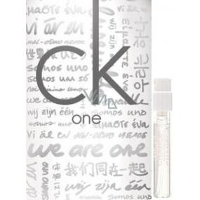 DÁREK Calvin Klein One Relaunch toaletní voda unisex 1,2 ml s rozprašovačem, Vialka