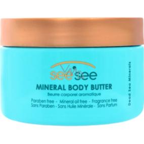 SeeSee Dead Sea s minerály Mrtvého moře tělové máslo 250 ml