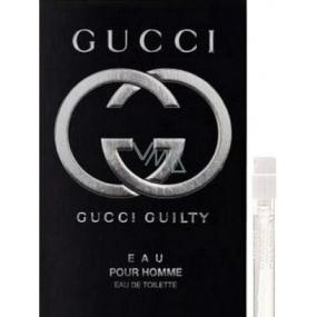 Gucci Guilty Eau Pour Homme toaletní voda 1,5 ml s rozprašovačem, Vialka