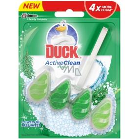DÁREK Duck Active Clean Pine WC závěsný čistič s vůní 38,6 g