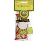 Le Chatelard Verbena a citron vonný pytlíček 18 g + parfémovaná pečeť s vůní 12 ml