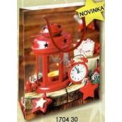 Nekupto Dárková papírová taška malá 14 x 11 x 6,5 cm Vánoční 1704 30 WBS