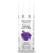 Nafigate Cosmetics Hyaluron regenerační noční krém s kyselinou hyaluronovou, vyhlazuje hluboké ijemné vrásky 50 ml