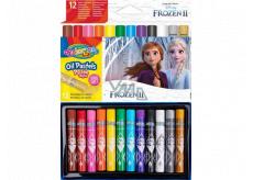 Colorino Olejové pastelky Disney Frozen kulaté 12 barev