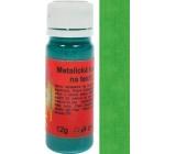 Artemiss Barva na textil 33 metalická zelená 12 g