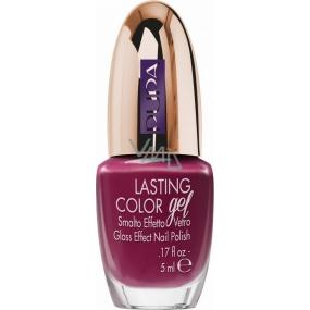 Pupa Paris Experience Lasting Color gelový lak na nehty 092 Velvety Fuschia 5 ml
