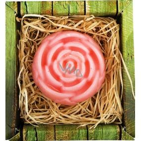 Bohemia Gifts & Cosmetics Růže ručně vyráběné toaletní mýdlo v krabičce 65 g