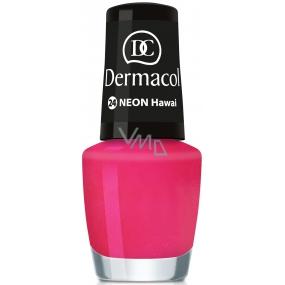 Dermacol Neon Polish Neonový lak na nehty 24 Hawai 5 ml