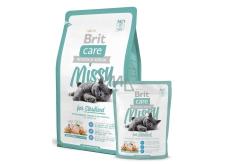 Brit Care Missy Sterilised Kuře + rýže pro sterilizované kočky 2 kg, Hypoalergenní kompletní krmivo