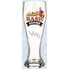 Nekupto Dárky s humorem Pivní sklenice humorné Dobrovolný hasič žízně 0,6 l