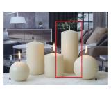 Lima Ice pastel svíčka creme válec 80 x 200 mm