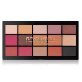 Makeup Revolution Re-Loaded paletka očních stínů Iconic Vitality 15 x 1,1 g