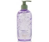 Heathcote & Ivory Flower Blooms Lavender Garden hydratační sprchový gel dávkovač 300 ml