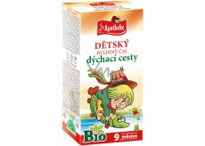 Apotheke Bio Dýchací cesty bylinný čaj pro děti od 9. měsíce 20 x 1,5 g
