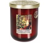 Heart & Home Hřejivé Vánoce Sojová vonná svíčka střední hoří až 30 hodin 115 g