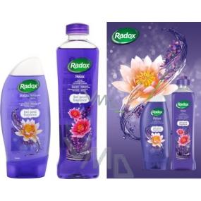 Radox Relaxační sprchový gel 250 ml + koupelová pěna 500 ml, kosmetická sada