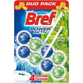 Bref Power Aktiv 4 Formula Borovice Freshness Wc blok 2 x 50 g, duopack