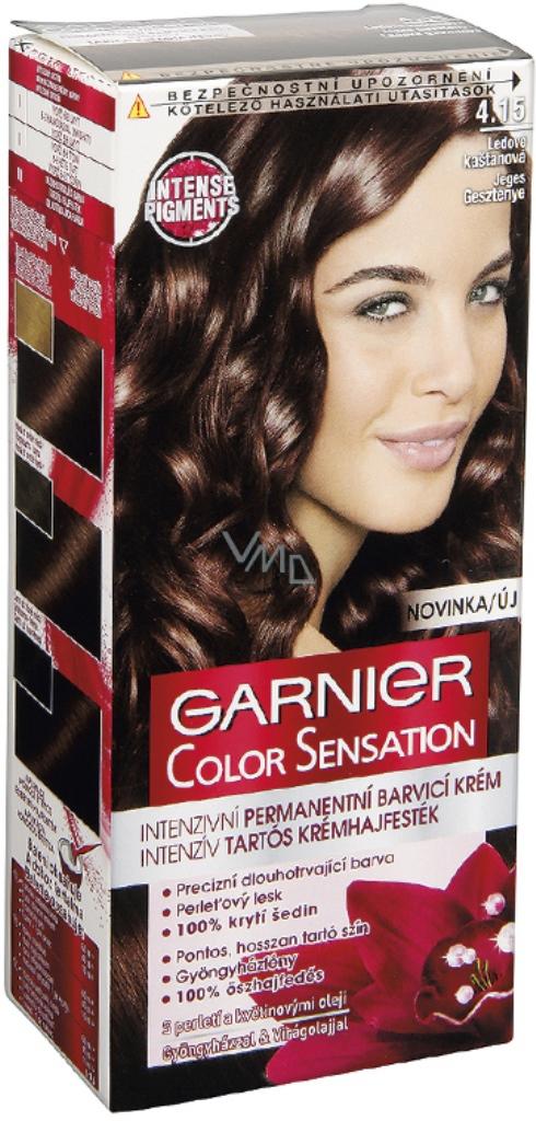 Garnier Color Sensation Barva Na Vlasy 4 15 Ledove Kastanova Vmd
