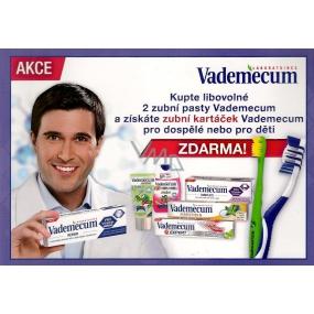 DÁREK Vademecum Expert Soft měkký zubní kartáček 1 kus