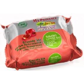 Ma Provence Bio Granátové jablko Pravé Marseille toaletní mýdlo 150 g
